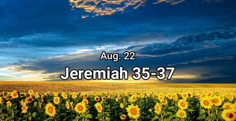 Jeremiah 35-37 Bible Quiz